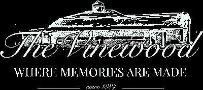 The Vinewood Logo White